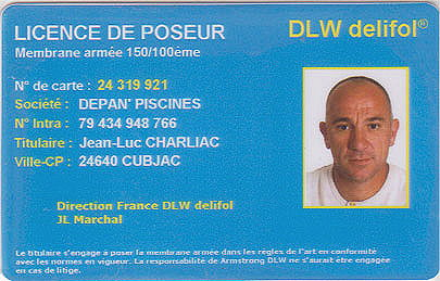 carte licence
